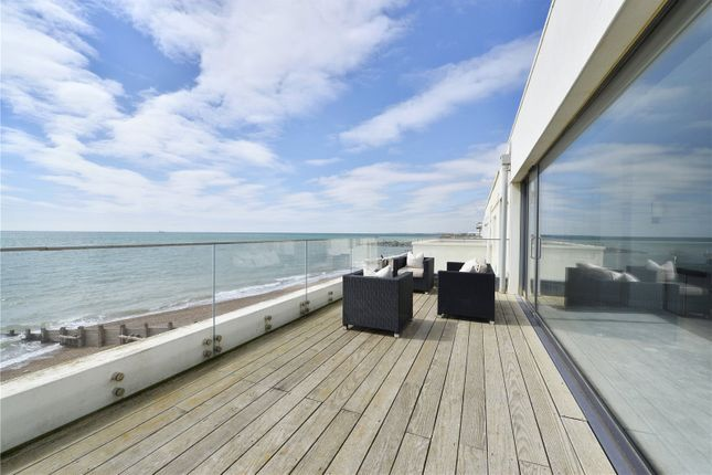 Thumbnail Terraced house for sale in Western Esplanade, Portslade, Brighton, East Sussex