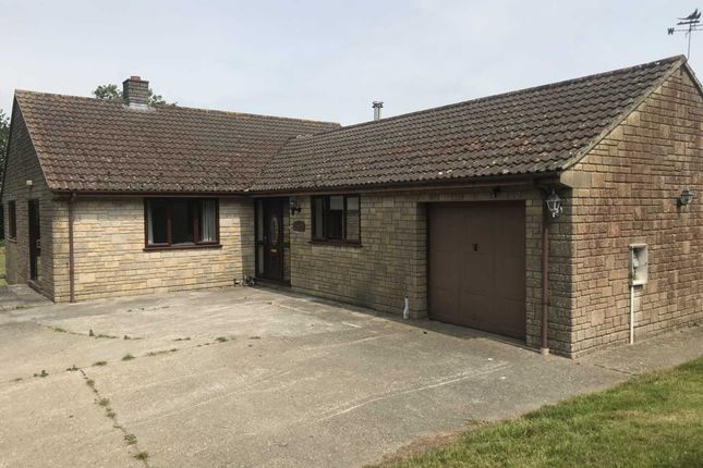 Thumbnail Detached bungalow to rent in Snowdon Hill, Chard