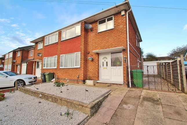 Thumbnail Semi-detached house for sale in Dovedale Road, Thurmaston, Leicestershire