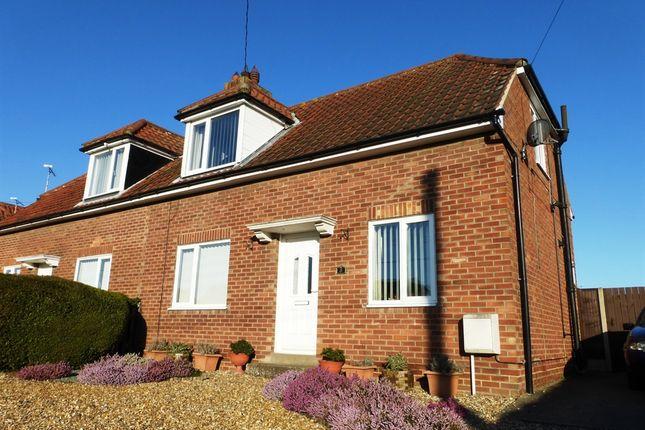 Thumbnail Semi-detached house for sale in Jubilee Avenue, East Harling, Norwich