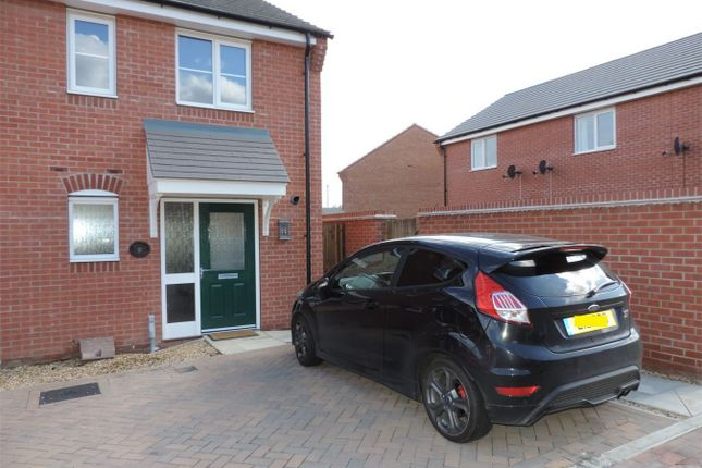 Thumbnail Terraced house to rent in Hexham Avenue, Bourne, Lincolnshire