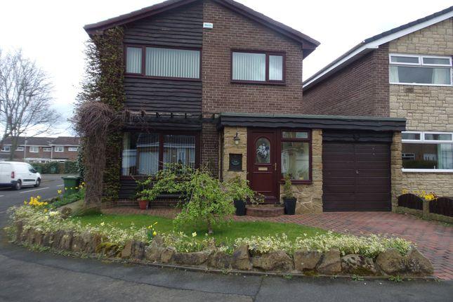 Thumbnail Detached house for sale in Langdale Drive, Cramlington