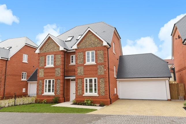 Thumbnail Detached house for sale in Redfields Lane, Church Crookham, Fleet