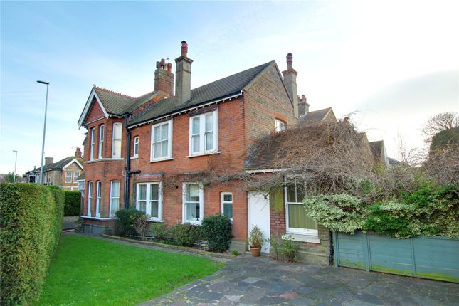Thumbnail End terrace house for sale in Heene Road, Worthing, West Sussex