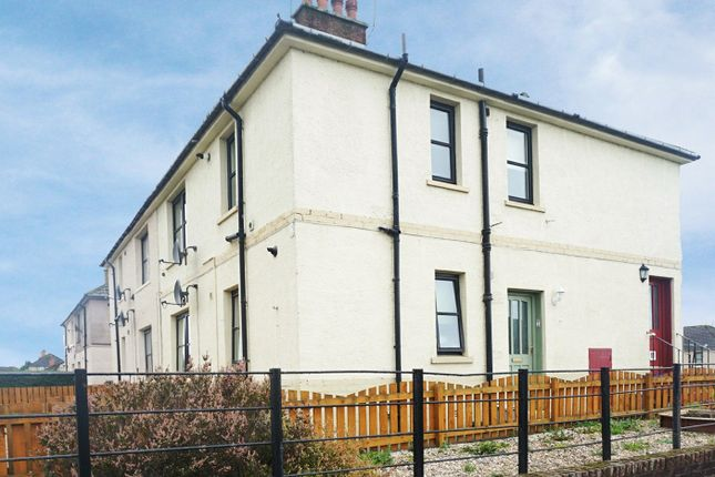 Thumbnail Flat for sale in Mannfield Avenue, Bonnybridge, Stirlingshire