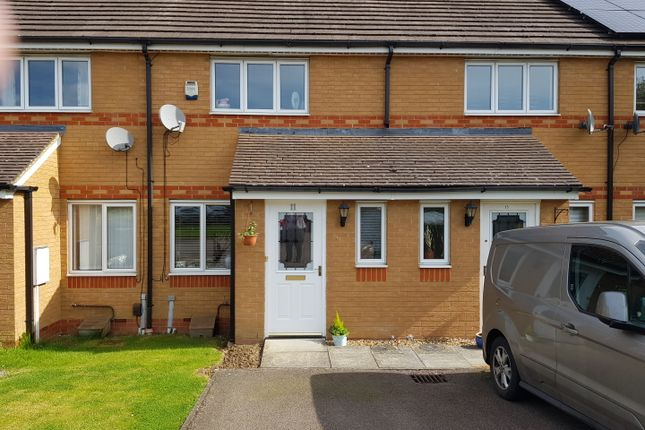 Thumbnail Terraced house for sale in Tewkesbury Drive, Rushden