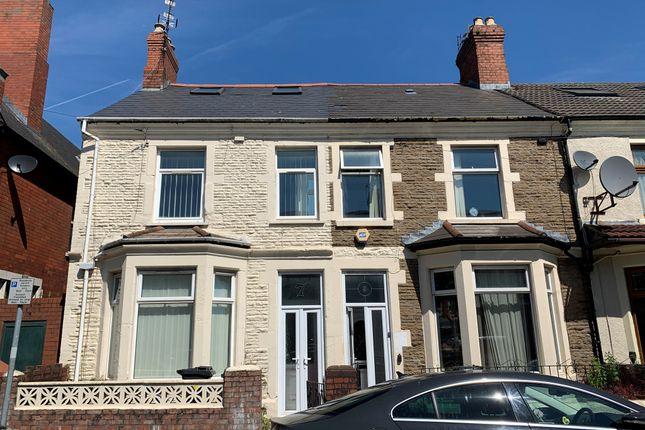 End terrace house for sale in Strathnairn Street, Roath, Cardiff