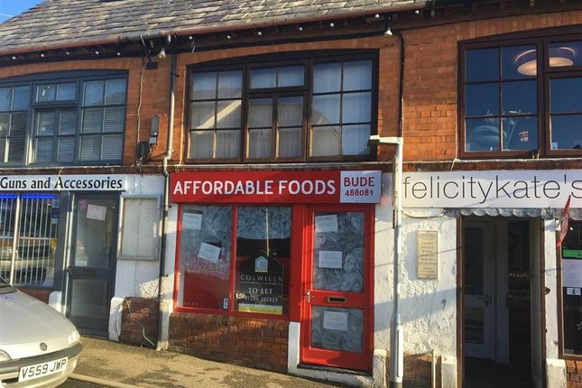 Commercial property to let in Belle Vue Lane, Bude, Cornwall