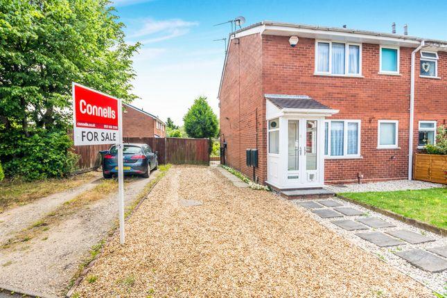 Thumbnail Semi-detached house for sale in Hopton Close, Burberry Grange, Tipton