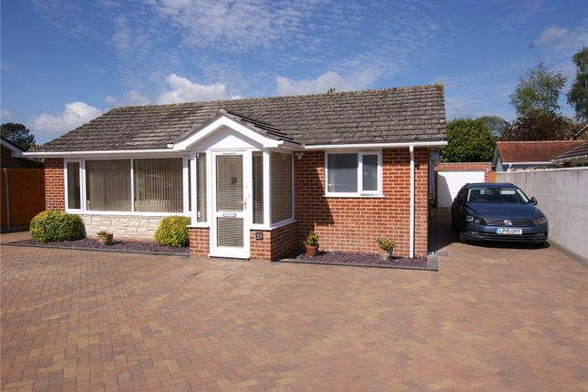 Thumbnail Bungalow for sale in Dalkeith Road, Corfe Mullen, Wimborne, Dorset