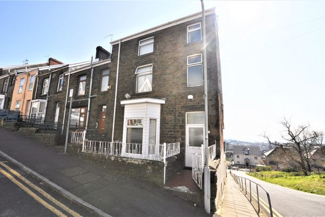 Thumbnail End terrace house to rent in Cromwell Street, Mount Pleasant, Swansea