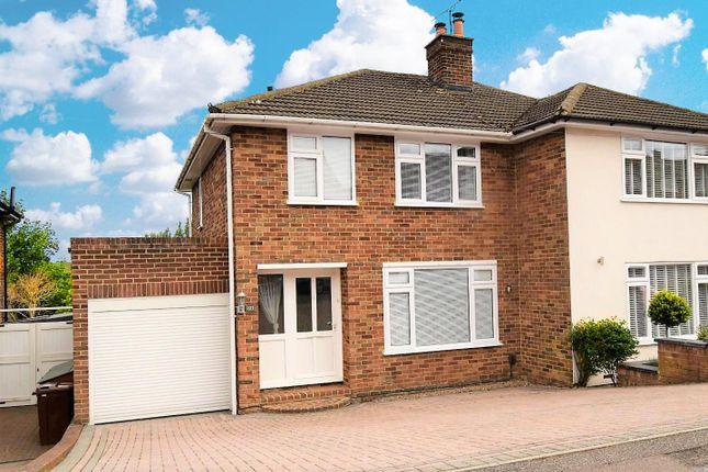 Semi-detached house for sale in Lonsdale Drive, Rainham, Gillingham