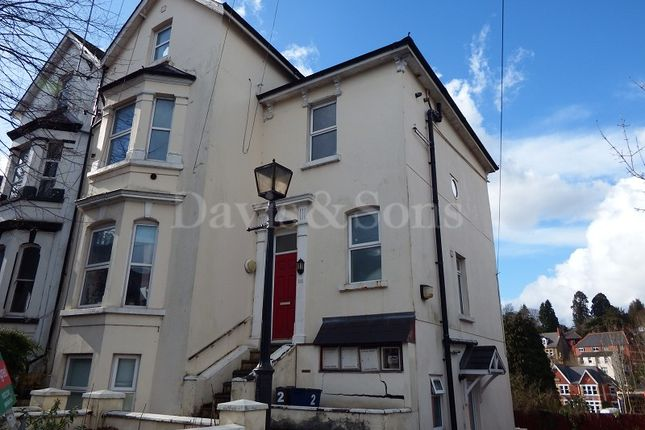 Thumbnail Flat for sale in Caerau Road, Newport, Gwent.