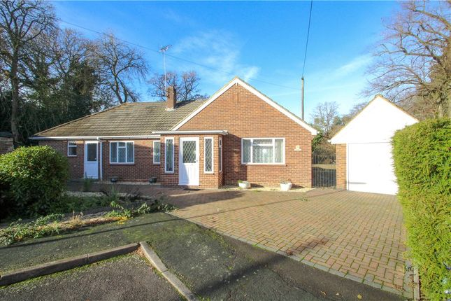 Thumbnail Bungalow for sale in Connaught Road, Bagshot, Surrey