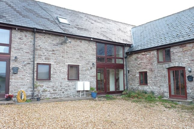 Thumbnail Barn conversion to rent in Gilfach Isaf, Aberbran, Brecon