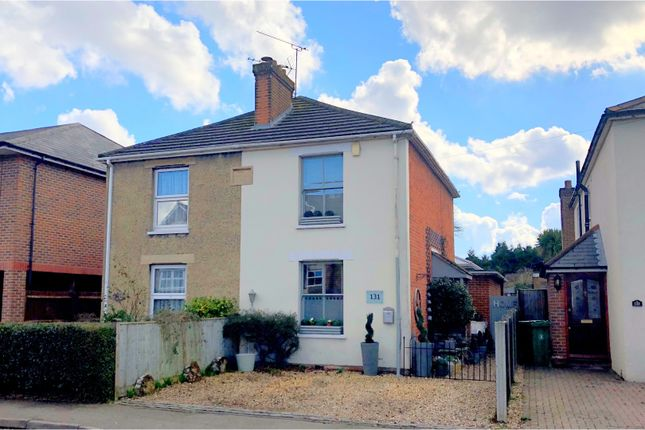 Thumbnail Semi-detached house for sale in Guildford Road, Lightwater