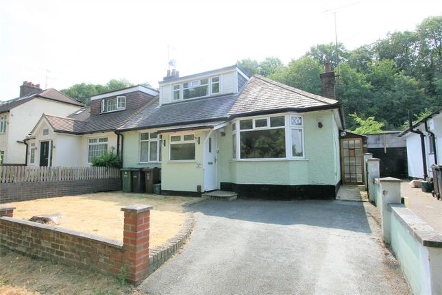 Thumbnail Semi-detached bungalow for sale in Old Watford Road, Bricket Wood, St. Albans