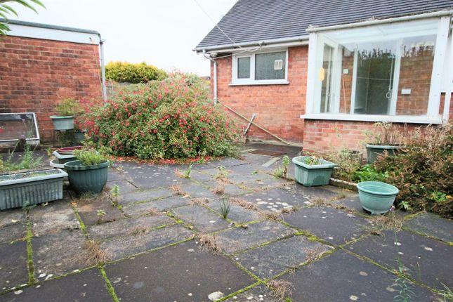 Rear Garden of Whitefield Road, Penwortham, Preston, Lancashire PR1