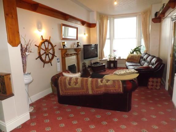 Living Room of Marine Terrace, Criccieth, Gwynedd LL52