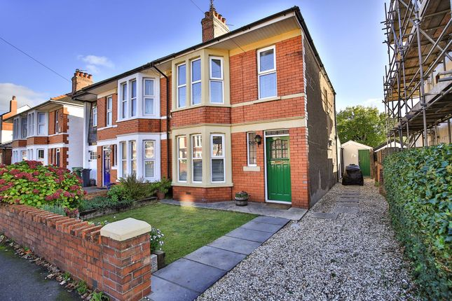 Thumbnail Semi-detached house for sale in Kyle Avenue, Whitchurch, Cardiff