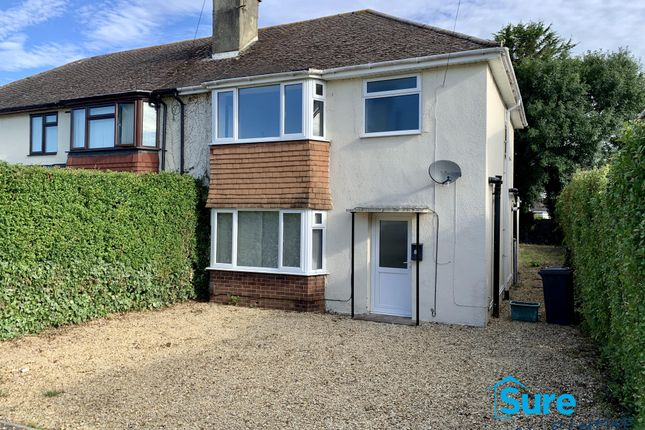 Thumbnail Semi-detached house to rent in Sandyleaze, Longlevens, Gloucester