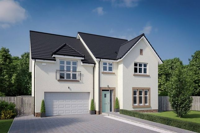 "Thumbnail Detached house for sale in ""The Garvie"" at Dalmahoy Crescent, Balerno"