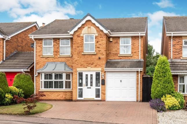 Thumbnail Detached house for sale in Pool Meadow, Cheslyn Hay, Walsall, Staffordshire