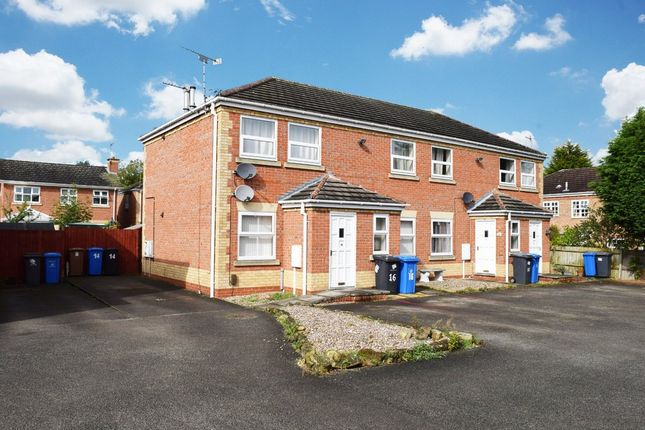 Thumbnail Flat to rent in Roseheath Close, Sunnyhill, Derby
