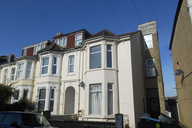 Thumbnail Maisonette to rent in Worthing Road, Southsea