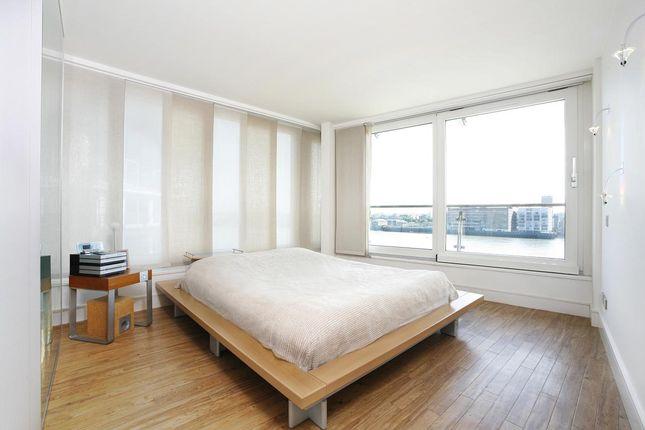 Bedroom of Cinnabar Wharf West, 22, Wapping High Street, Tower Bridge E1W
