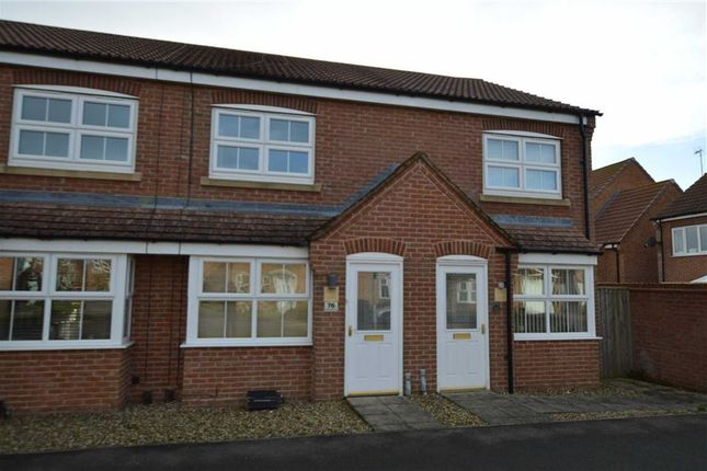 2 bed terraced house for sale in Ashcourt Drive, Hornsea, East Yorkshire