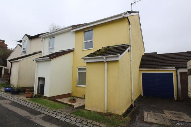 Thumbnail End terrace house for sale in Kenton Brook Court, Torquay