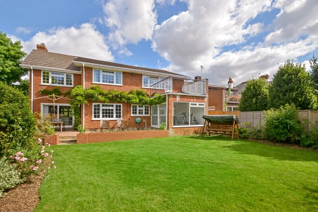 Thumbnail Detached house for sale in Langstone Avenue, Havant