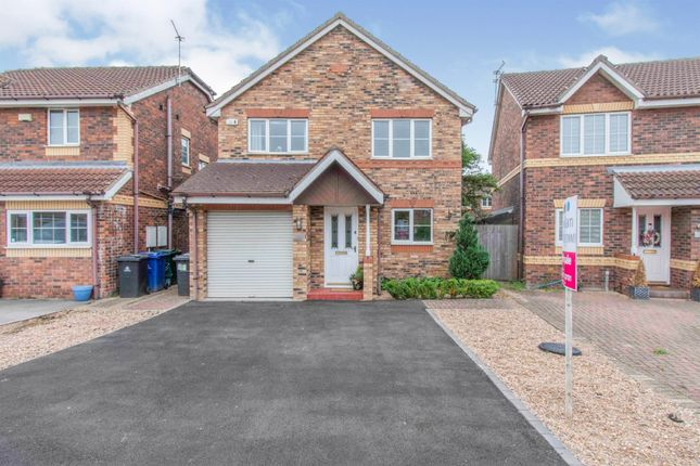 Thumbnail Detached house for sale in Malham Tarn Court, Lakeside, Doncaster