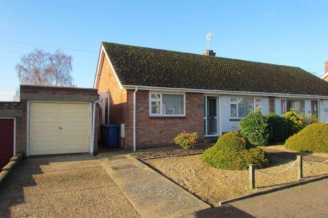 Thumbnail Semi-detached bungalow to rent in Dukes Drive, Halesworth