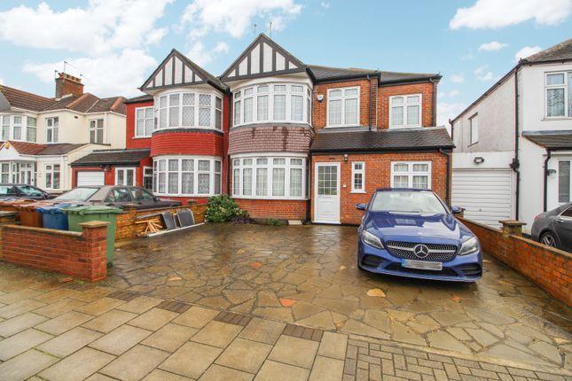 Thumbnail Flat to rent in Hillbury Avenue, Kenton, Harrow
