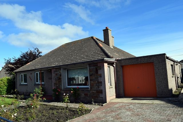 Thumbnail Bungalow for sale in Hillcrest, Kirkhill, Wick