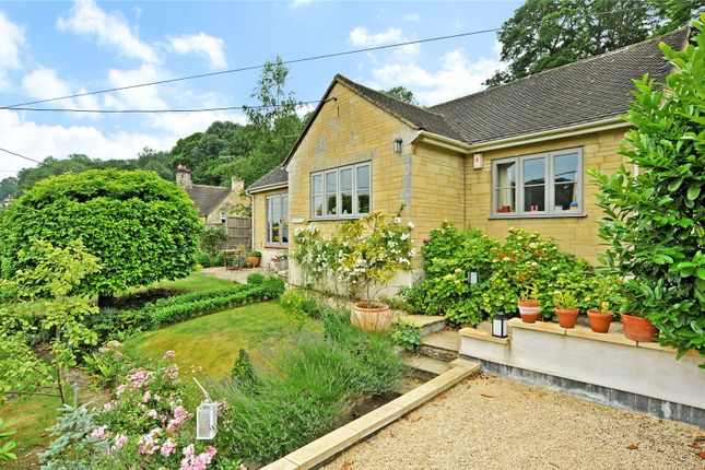 Thumbnail Detached bungalow for sale in Lower Stoke, Limpley Stoke, Bath