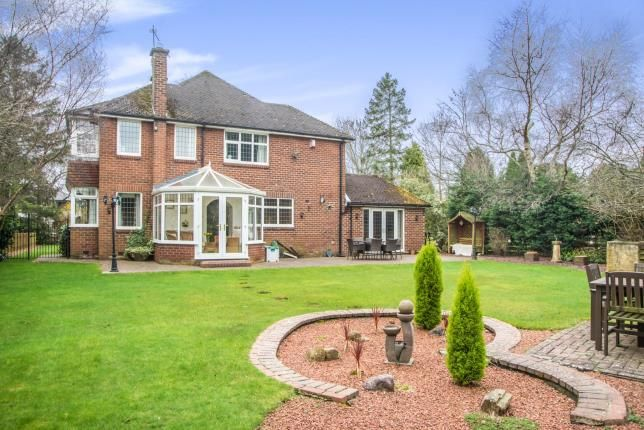 Thumbnail Detached house for sale in Middle Drive, Darras Hall, Ponteland, Northumberland