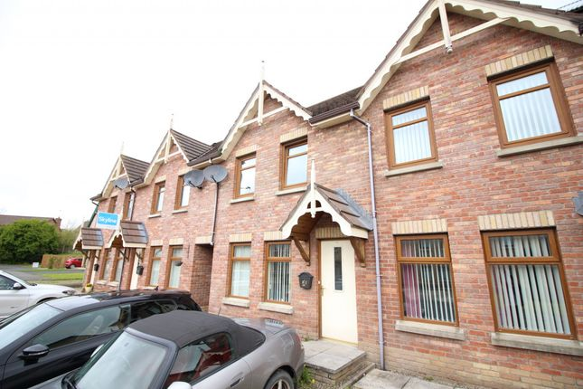 Thumbnail Terraced house for sale in Stonebridge Avenue, Conlig, Bangor