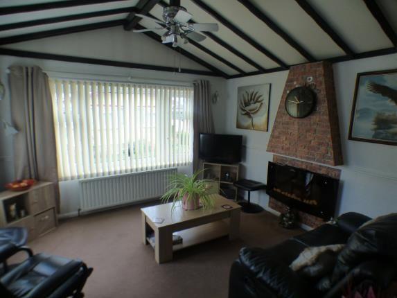 Lounge of Park Road, Briar Bank Park, Wilstead, Bedfordshire MK45