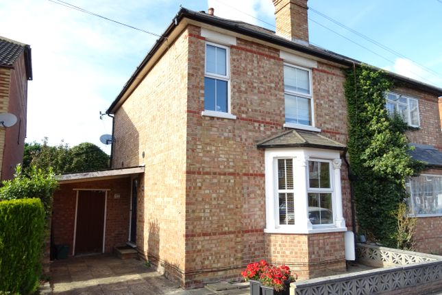 Thumbnail Semi-detached house for sale in Crockford Park Road, Addlestone