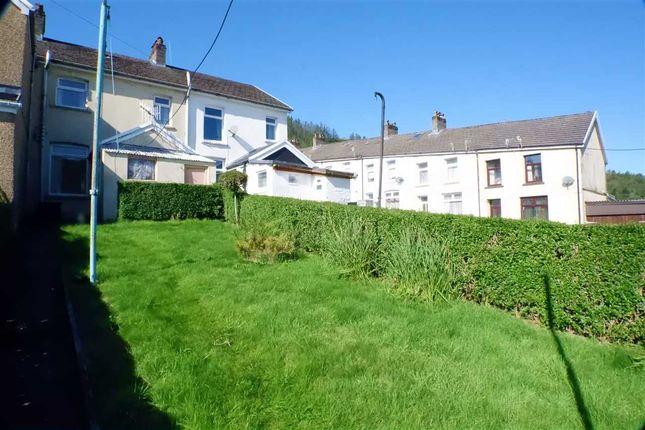 Rear Garden of James Street, Maerdy, Ferndale CF43