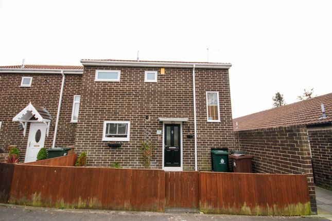 Thumbnail 2 bed semi-detached house for sale in Garth Twentyseven, Killingworth, Newcastle Upon Tyne