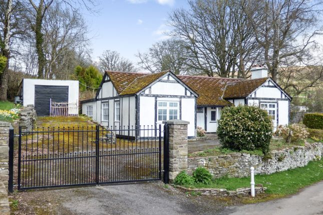 Thumbnail Detached bungalow for sale in Brecon, Brecon, Powys