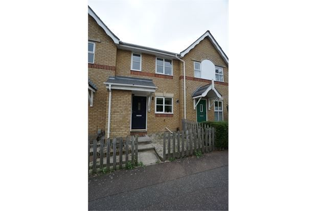 2 bed terraced house to rent in Thornton Drive, Colchester, Essex.