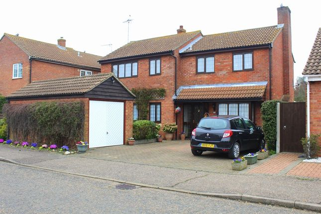 Thumbnail Detached house for sale in The Spennells, Thorpe-Le-Soken, Clacton-On-Sea