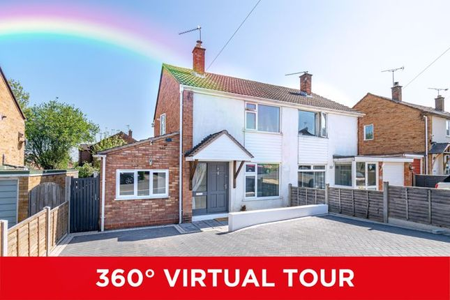 Thumbnail Semi-detached house for sale in Eden Close, Studley