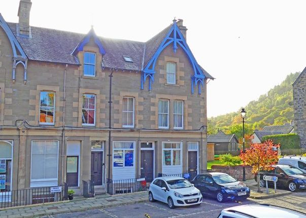 Thumbnail Town house for sale in Station Road, Birnam