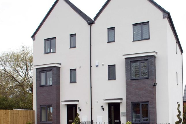"Thumbnail Semi-detached house for sale in ""The Canterbury"" at Stafford Road, Wolverhampton"